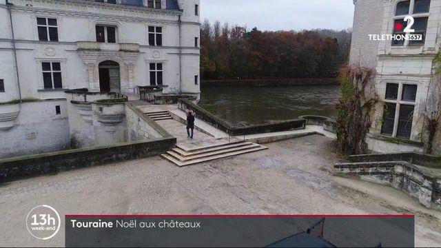 Touraine : les châteaux de la Loire se préparent pour Noël