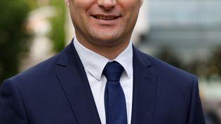 Sylvain Maillard, candidat de La République en marche, a été élu dès le premier tour, le 11 juin 2017, aux élections législatives. (CHARLY TRIBALLEAU / AFP)