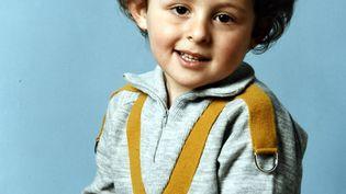 Portrait du petit Grégory Villemin en 1984 (/NCY / MAXPPP)