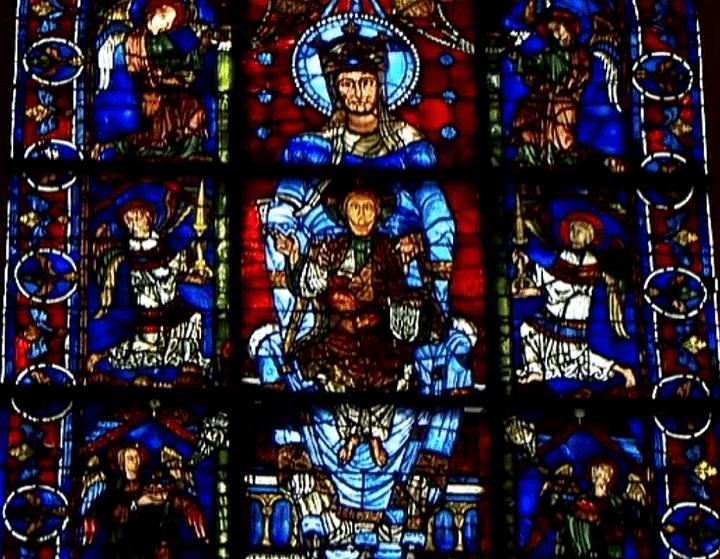 Vitrail de la Cathédrale de Chartres  (France 2)