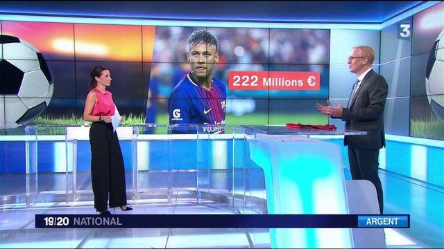Transfert de Neymar : des chiffres à donner le vertige