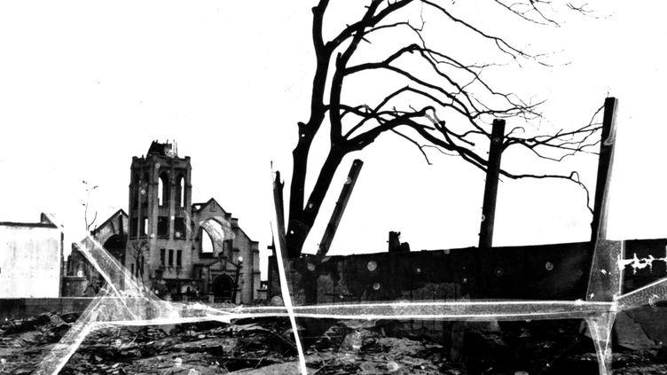 La ville d'Hiroshima après le bombardement atomique, 6 août 1945  (ARCHIVES SNARK / PHOTO12)