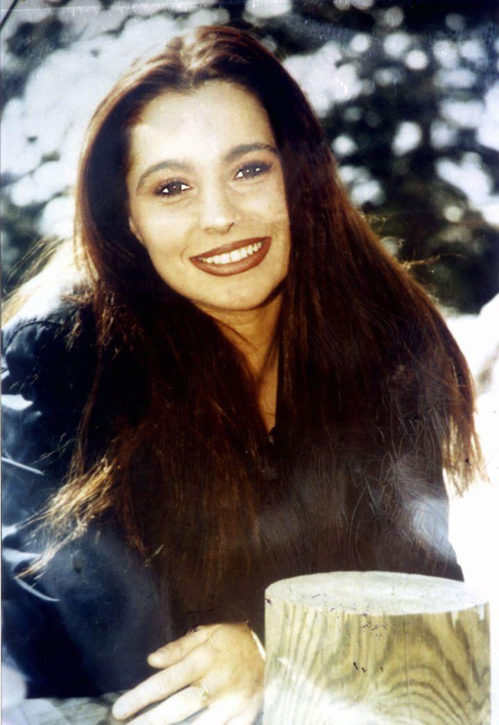 Photo non datée de Marie-Hélène Gonzalez, dont le corps mutilé a été retrouvé le 26 juin 1998 à Perpignan (Pyrénées-Orientales). (MAXPPP)