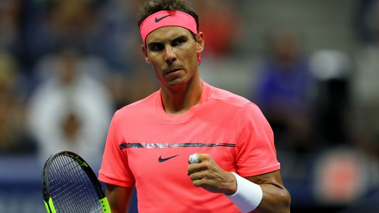 L'Espagnol Rafael Nadal. (RICHARD HEATHCOTE / GETTY IMAGES NORTH AMERICA)