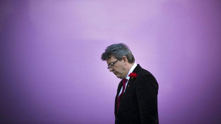 (Jean-Luc Mélenchon n'avait plus pris la parole depuis le second tour des Européennes © Maxppp)