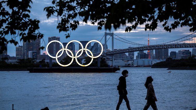 Certains Japonais demandent l'annulation des Jeux olympiques. (CHARLY TRIBALLEAU / AFP)
