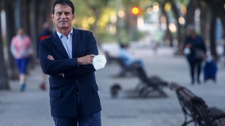Manuel Valls, le 16 mai 2020. (QUIQUE GARCIA / EFE)