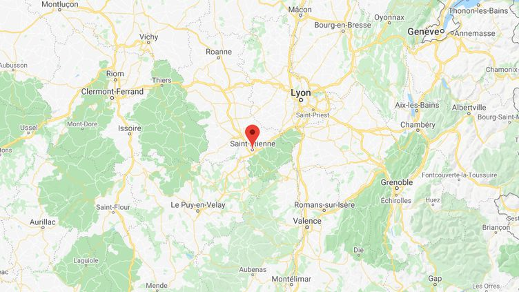 Saint-Etienne (Loire). (GOOGLE MAPS)