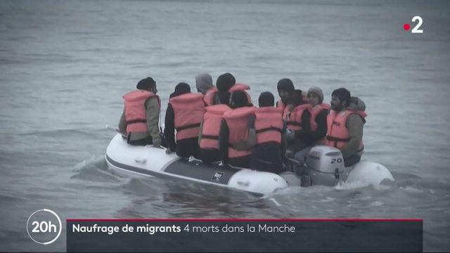 Migrants : quatre morts après le naufrage d'une embarcation