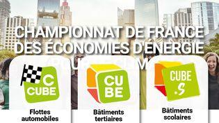 Capture d'écran duchampionnat de France des économies d'énergieorganisé par l'Institut Français pour la performance du bâtiment. (CAPTURE ECRAN / CHAMPIONNAT DE FRANCE DES ÉCONOMIES D'ÉNERGIE)