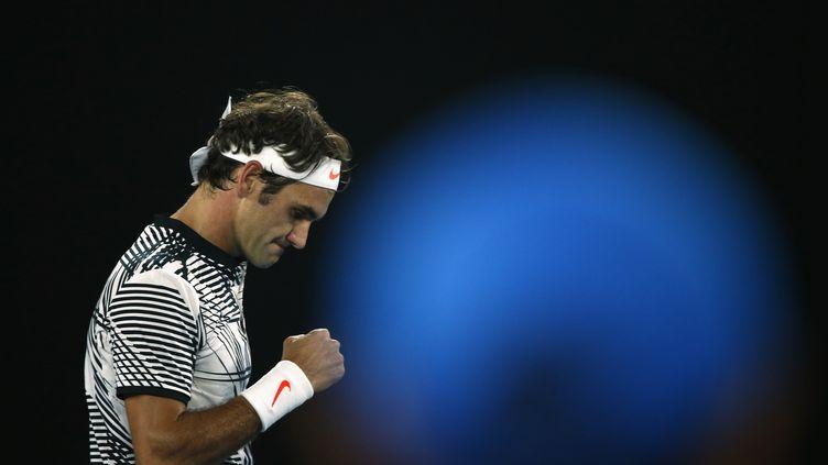 Le Suisse Roger Federer (? THOMAS PETER / REUTERS / X90176)