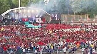 Près de 15 000 scouts se retrouvent actuellement en Alsace. (CAPTURE D'ÉCRAN FRANCE 2)