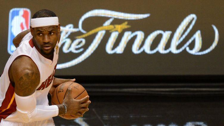 LeBron James (Miami Heat) (DON EMMERT / AFP)