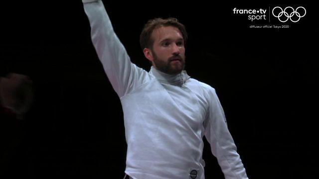 Romain Cannone a remporté la première médaille d'or française dans ces Jeux Olympiques de Tokyo ! Surprenant tout au long de la journée, le Français s'est imposé 15-11 face au Hongrois Gergely Siklos. Revivez sa finale dans les conditions du direct.