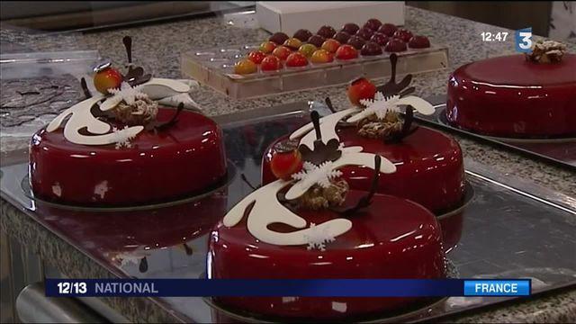 Pâtisserie : les desserts de fin d'année en préparation