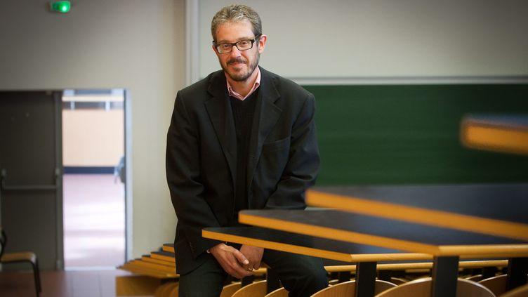 """Le sociologueLaurent Mucchielli,auteur de """"La délinquance des jeunes"""". (PIERRE ROBERT / MAXPPP)"""