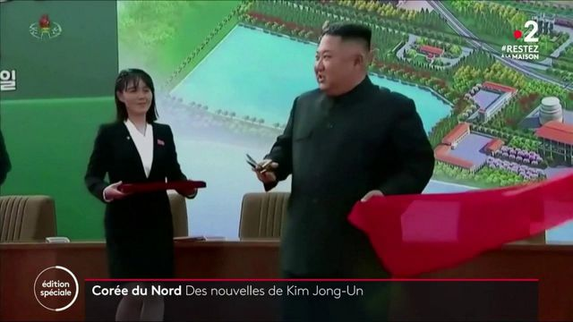 Corée du Nord : Kim Jong-Un réapparait en public pour la première fois depuis presque un mois