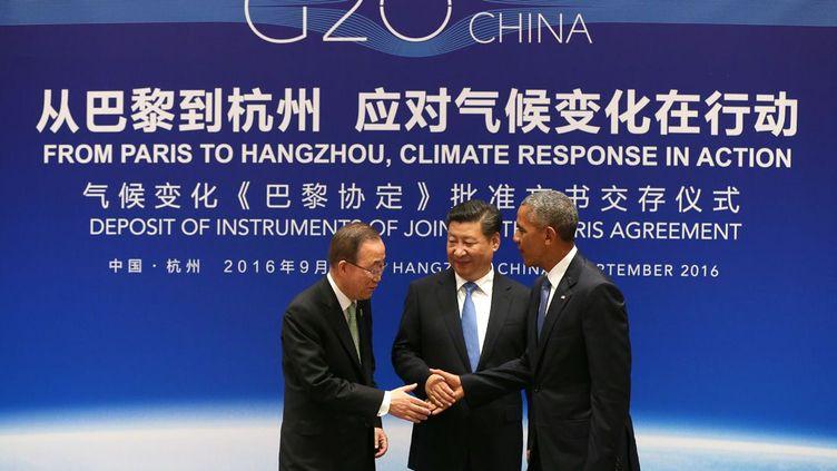 L'accord de Paris sur le climat, conclu en décembre 2015 à l'issue de la COP21, pourra être vu par les générations futures comme «le moment où nous avons enfin décidé de sauver notre planète», a déclaré le 3 septembre le président américain Barack Obama. Une déclaration faite juste après l'annonce conjointe de la ratification de l'accord de Paris sur le réchauffement climatique par Pékin et Washington.