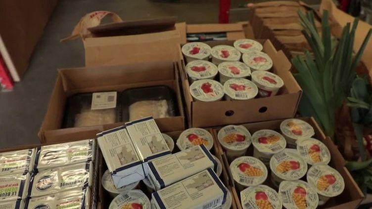 Confinement : le marché de Rungis livre ses produits à domicile (FRANCE 3)