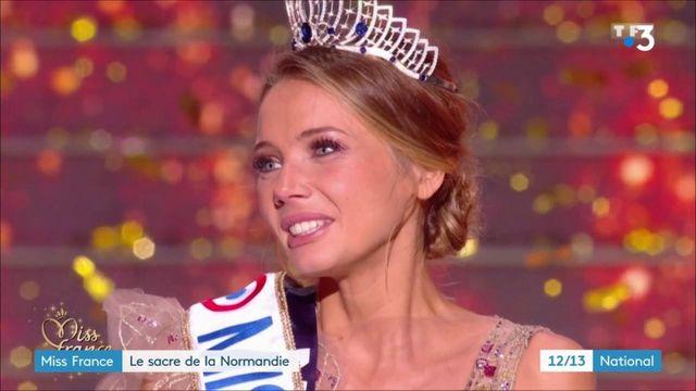 Miss France : la Normandie célèbre Amandine Petit