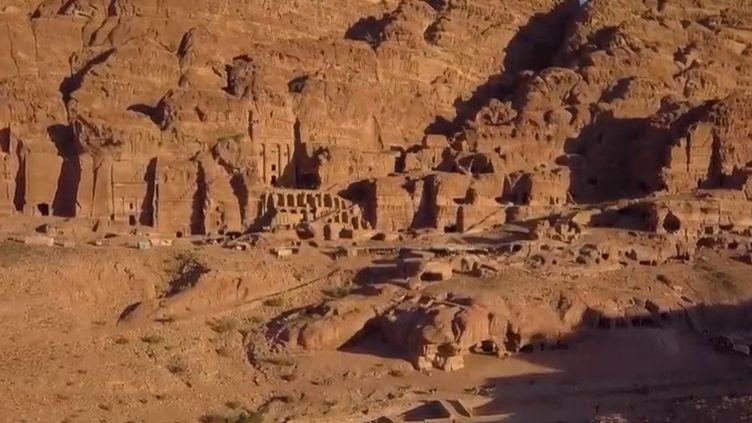 La cité antique de Pétra, en Syrie. (France 2)