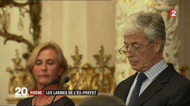 Attentat de Marseille : les adieux en larmes de l'ex-préfet du Rhône