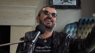 Ringo Starr, le batteur des Beattles, en septembre 2019. (FRANCEINFO / RADIO FRANCE)