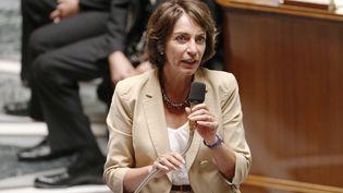 La ministre de la Santé, Marisol Touraine, à l'Assemblée nationale, le 17 septembre 2014. (THOMAS SAMSON / AFP)