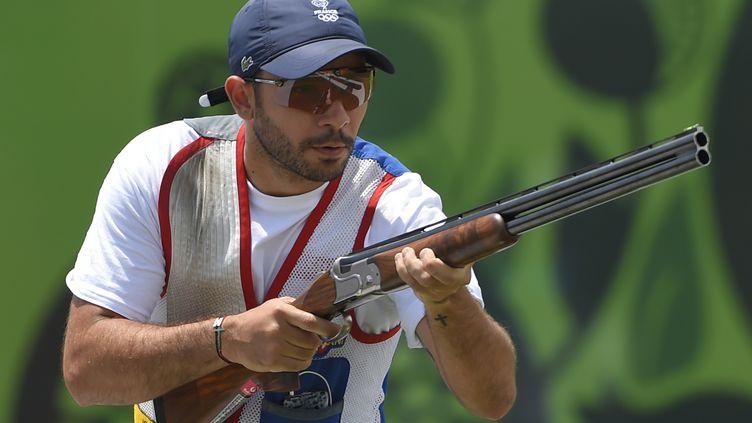 L'un des meilleurs tireurs de la planète, en skeet olympique, Anthony Terrras (JULIEN CROSNIER / DPPI MEDIA)