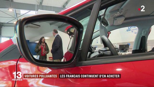 Voitures polluantes: les automobilistes français champions du malus