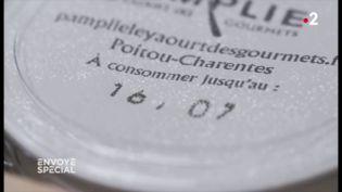 Dates limites de consommation : quand un fabricant fournit involontairement la preuve qu'elles pourraient être allongées (ENVOYÉ SPÉCIAL  / FRANCE 2)