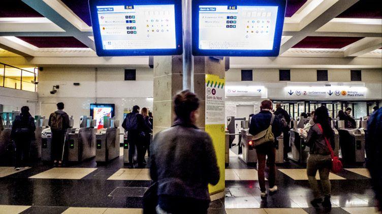 La gare de l'Est à Parisle 9 avril 2018. (ARTHUR HERVE/REA)