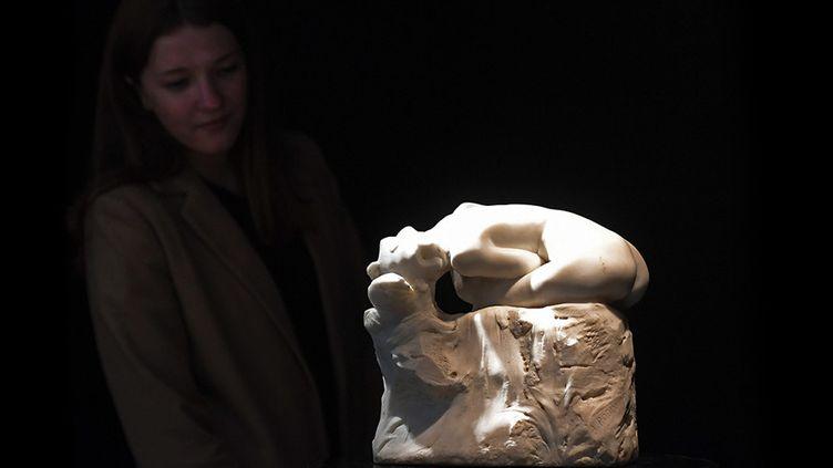 """Andromède"", Auguste Rodin, Artcurial mars 2017  (GABRIEL BOUYS / AFP)"