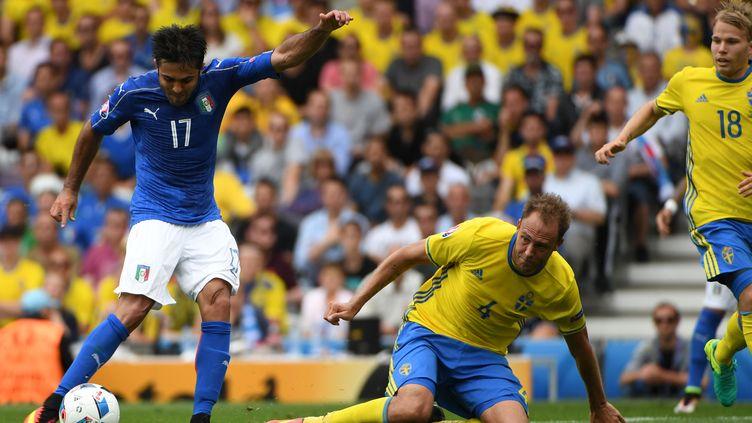 L'Italie face à la Suède à l'Euro 2016