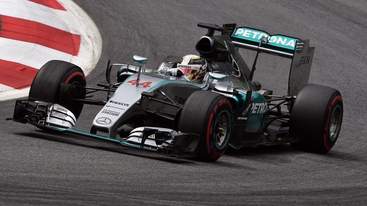 Lewis Hamilton s'élancera en pole position en Autriche pour la première fois de sa carrière. (ANDREJ ISAKOVIC / AFP)