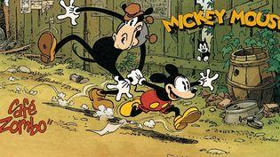 """""""Café Zombo"""" de Régis Loisel plonge dans l'univers du Mickey des année 30  (France 3 / Culturebox)"""