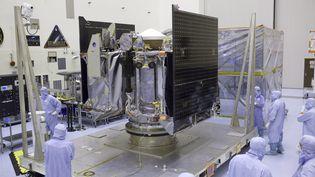 La sonde Osiris-Rex (DIMITRI GERONDIDAKIS / MAXPPP)