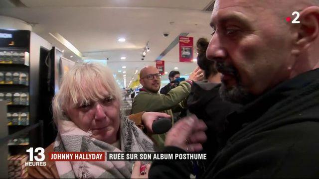 Johnny Hallyday : son album posthume disque de platine en quelques heures