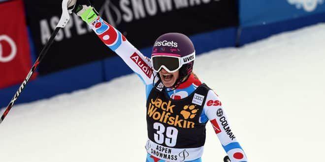 La skieuse tricolore Adeline Baud