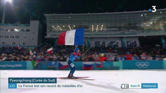JO-2018 : la France bat son record de médailles d'or