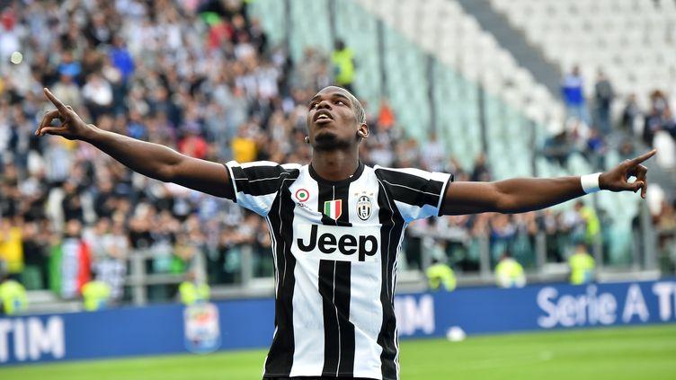 Le joueur de la Juventus Turin, Paul Pogba (GIUSEPPE CACACE / AFP)