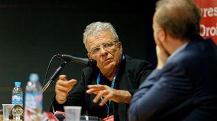 Lors d'une conférence d'Olivier Duhamel à Toulon en 2017. Photo d'illustration. (DOMINIQUE LERICHE / MAXPPP)