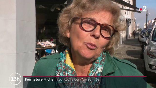 Fermeture d'une usine Michelin à la Roche-sur-Yon : La ville sous le choc