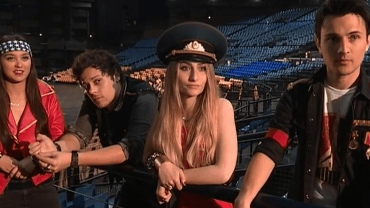 """Les 4 membres du groupe """"Miss America""""  (France 3/Culturebox / capture d'écran)"""