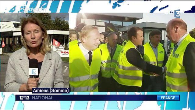Amiens : Emmanuel Macron cherche un nouveau visage auprès des salariés de Whirlpool