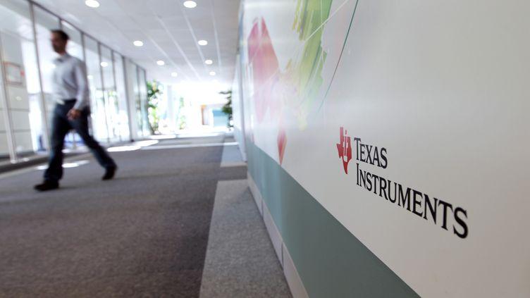 Le site Texas Instruments France à Villeneuve-Loubet(Alpes-Maritimes),le 18 décembre 2012. (JEAN CHRISTOPHE MAGNENET / AFP)