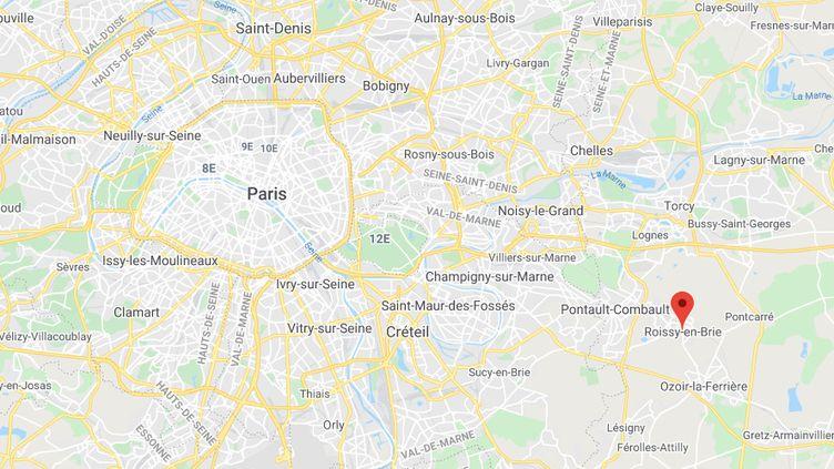 Roissy-en-Brie est une commune deSeine-et-Marne. (GOOGLE MAPS)