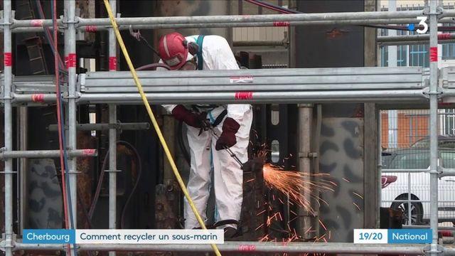 Cherbourg : comment démanteler et recycler un sous-marin nucléaire ?