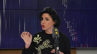 Rachida Dati, députée européenne, maire LR du 7e arrondissement de Paris. (JEAN-CHRISTOPHE BOURDILLAT / RADIO FRANCE)