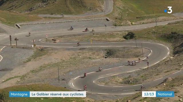 Alpes : le col du Galibier réservé aux cyclistes le temps d'une matinée